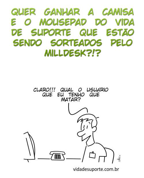Sorteio Milldesk