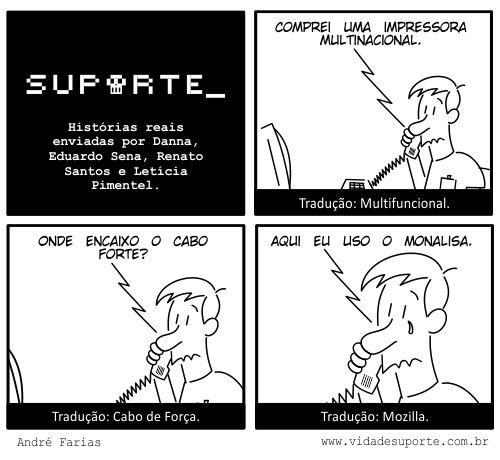 Suporte Traduções