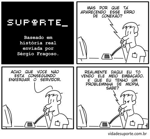 Vida de Suporte - Enxergando o servidor