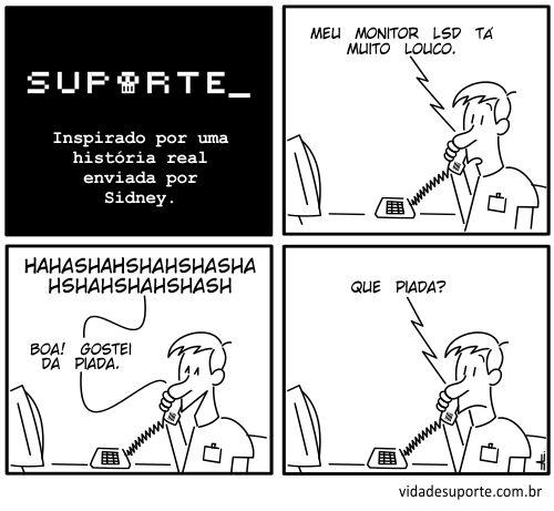 Vida de Suporte - LSD