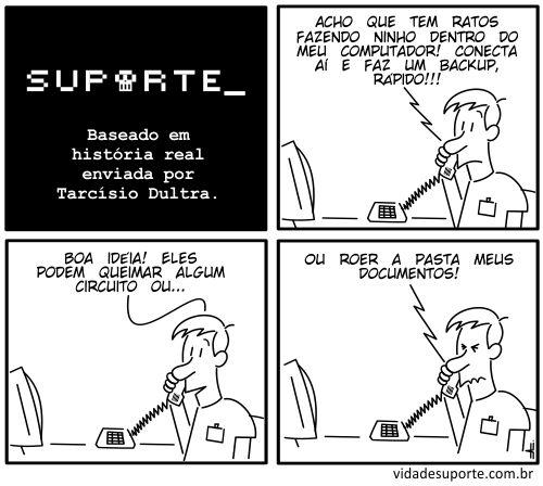 Vida de Suporte - Ratos