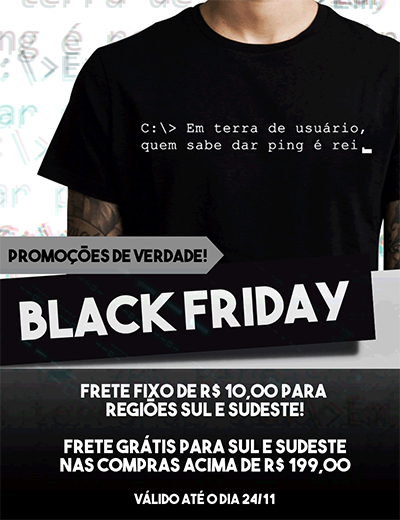 Black Friday Vida de Suporte