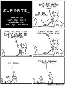Vida de Suporte - Patch Cord