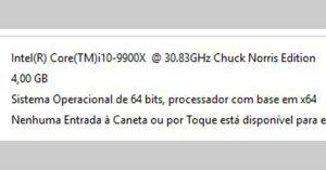 Vida de Suporte - Chuck Norris