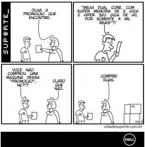 Vida de Suporte - Atendimento Consultivo Dell