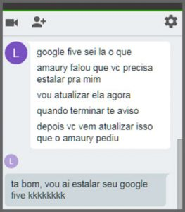 Flagras de Atendimento - Google