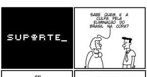 Vida de Suporte - A culpa pela eliminação do Brasil