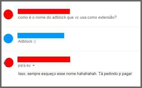 Flagras de Atendimento - Adblock