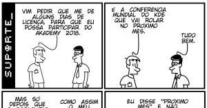 Vida de Suporte - Conferência Mundial do KDE