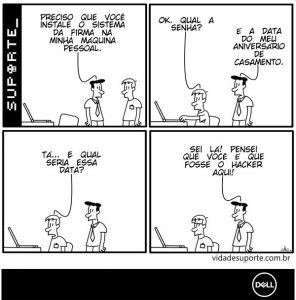 Vida de Suporte - BYOD Dell