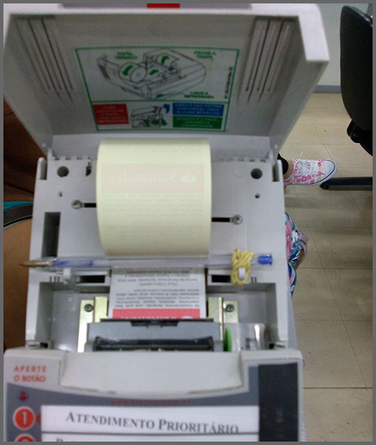 Flagras de Atendimento - Impressora Fiscal