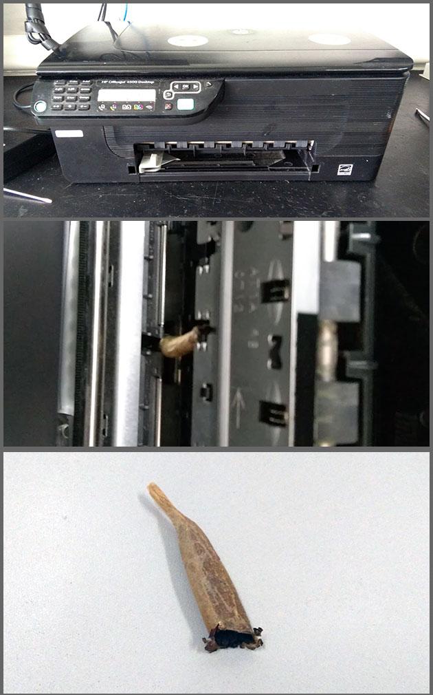 Flagras de Atendimento - Impressora Doida