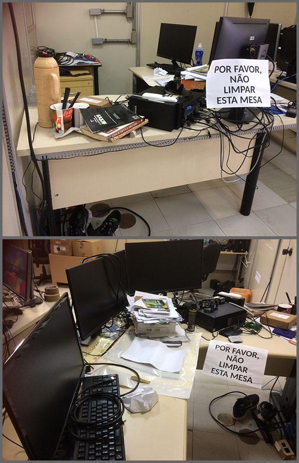 Flagras de Atendimento - Não limpar