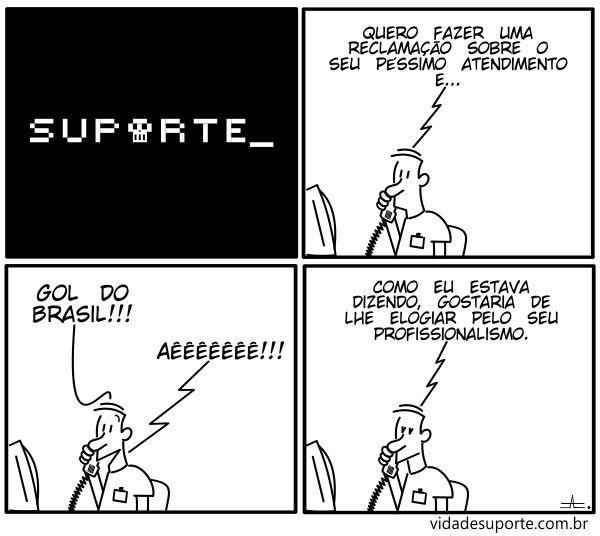 Vida de Suporte - Gol do Brasil
