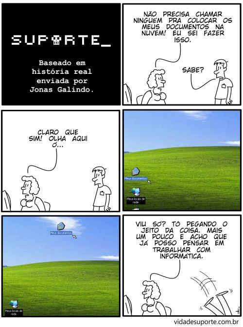 Vida de Suporte - Colocando na Nuvem