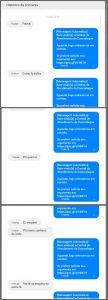 Flagras de Atendimento - Mensagem Automática