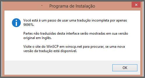 Flagras de Atendimento - WinSCP