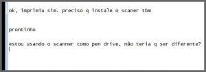 Flagras de Atendimento - Scanner Pen Drive