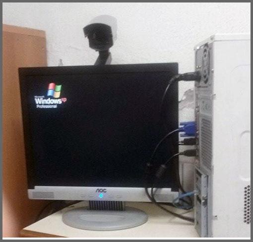 Flagras de Atendimento - Webcam
