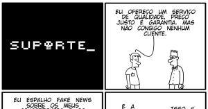 Vida de Suporte - Fake News