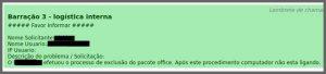 Flagras de Atendimento - Office
