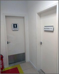 Flagras de Atendimento - Banheiro