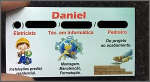 Flagras de Atendimento - Daniel