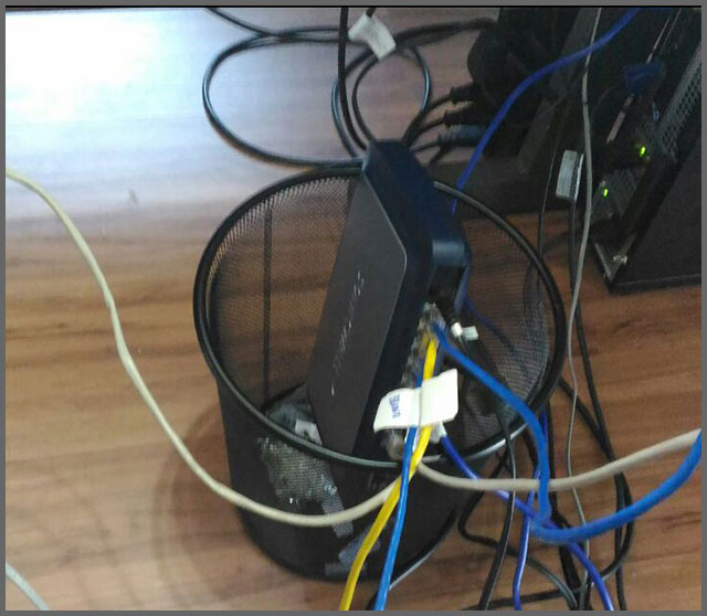 Flagras de Atendimento - Internet Lixo