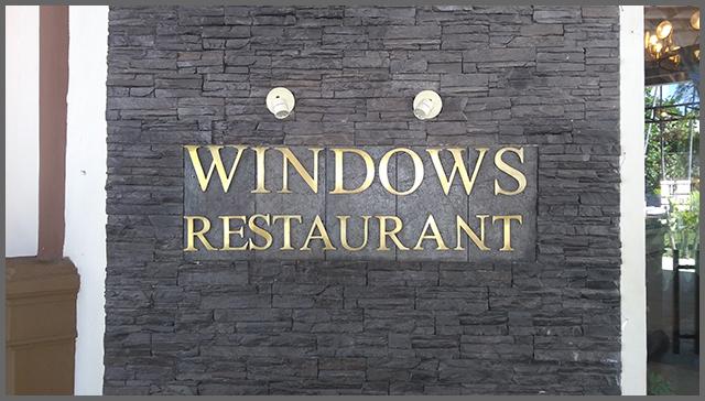 Flagras de Atendimento - Restaurante WindowsFlagras de Atendimento - Restaurante Windows