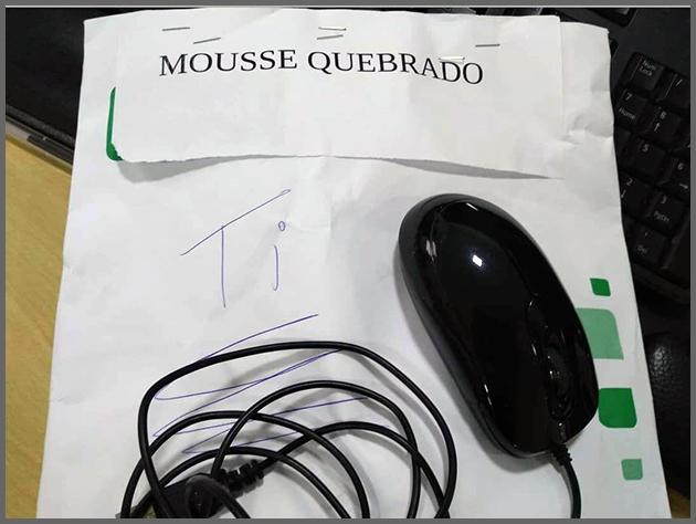 Flagras de Atendimento - Mousse