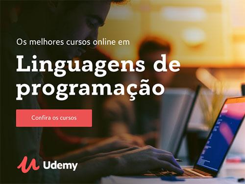 Cursos de Linguagem de Programação em promoção na Udemy