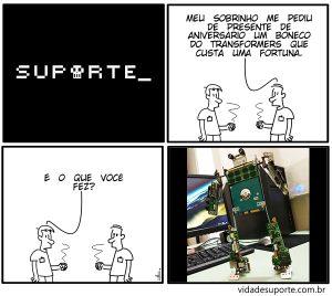 Vida de Suporte - Boneco