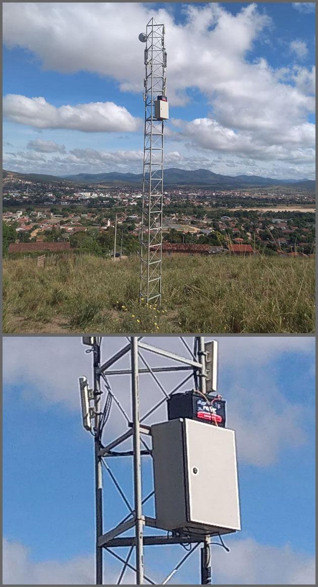 Flagras de Atendimento - Bateria Antena