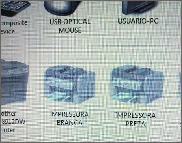 Flagras de Atendimento - Nomes das impressoras