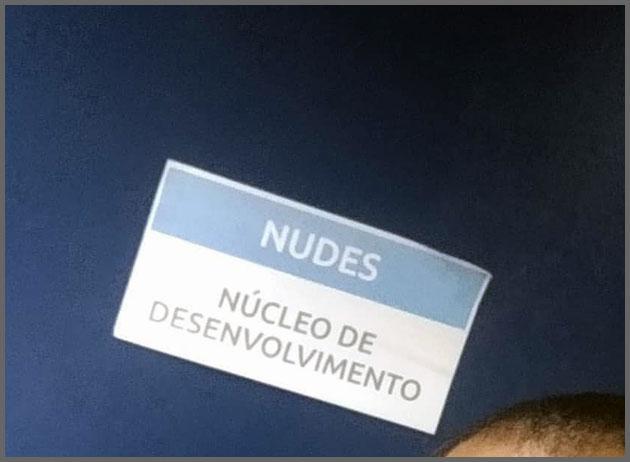 Flagras de Atendimento - Nudes