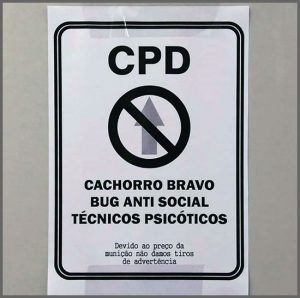 Flagras de Atendimento - Porta do CPD