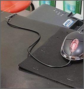 Mousepad Antiderrapante 02 - Flagras de Atendimento