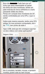 PC Antigo - Flagras de Atendimento