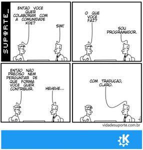 Comunidade KDE - Vida de Suporte
