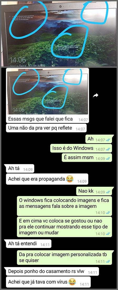Fotos Windows - Flagras de Atendimento