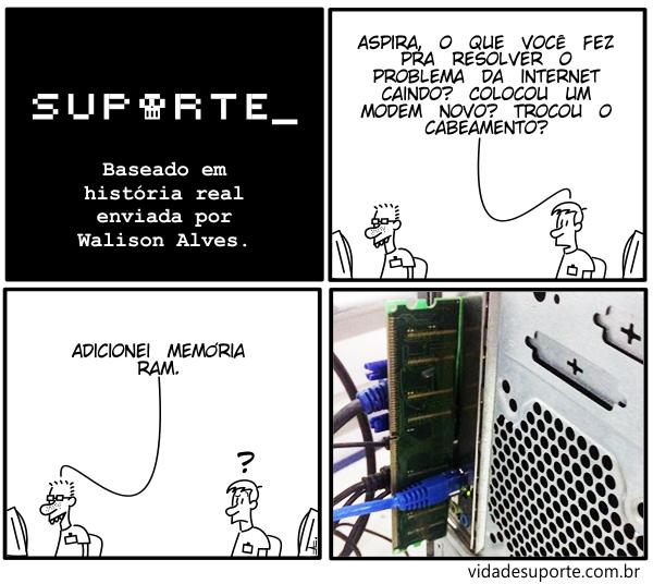 Memória RAM - Vida de Suporte