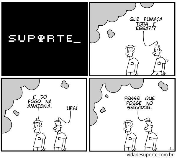 Fumaça - Vida de Suporte