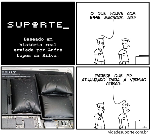 MacBook Air - Vida de Suporte