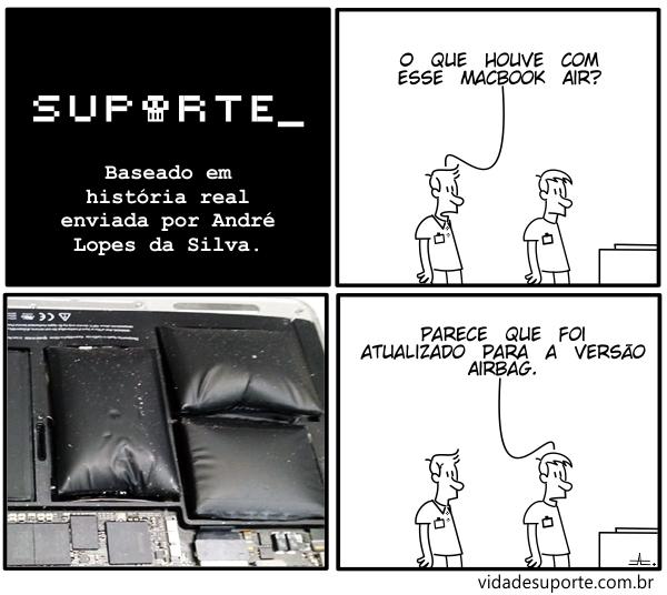 MacBook Air - Vida de Suporte