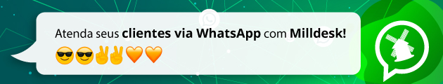 Milldesk integrado com WhatsApp
