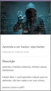 Curso Hacker - Flagras de Atendimento