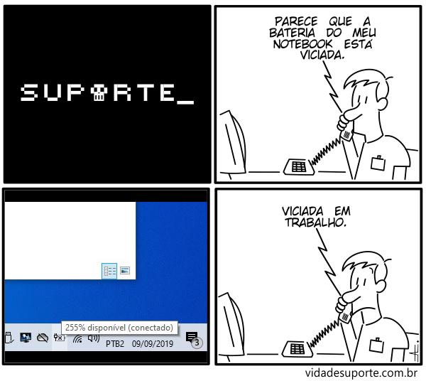 Workaholic - Vida de Suporte