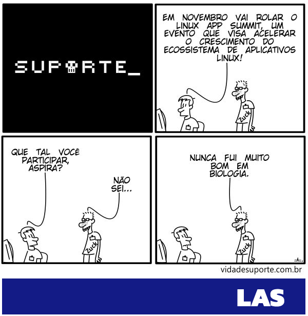 Aplicativos Linux - Vida de Suporte