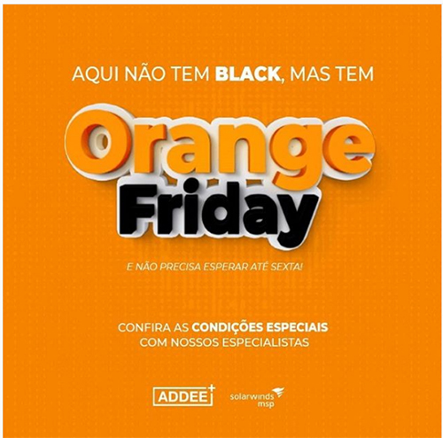 Orange Friday Addee SolarWinds