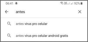 Antivírus - Flagras de Atendimento